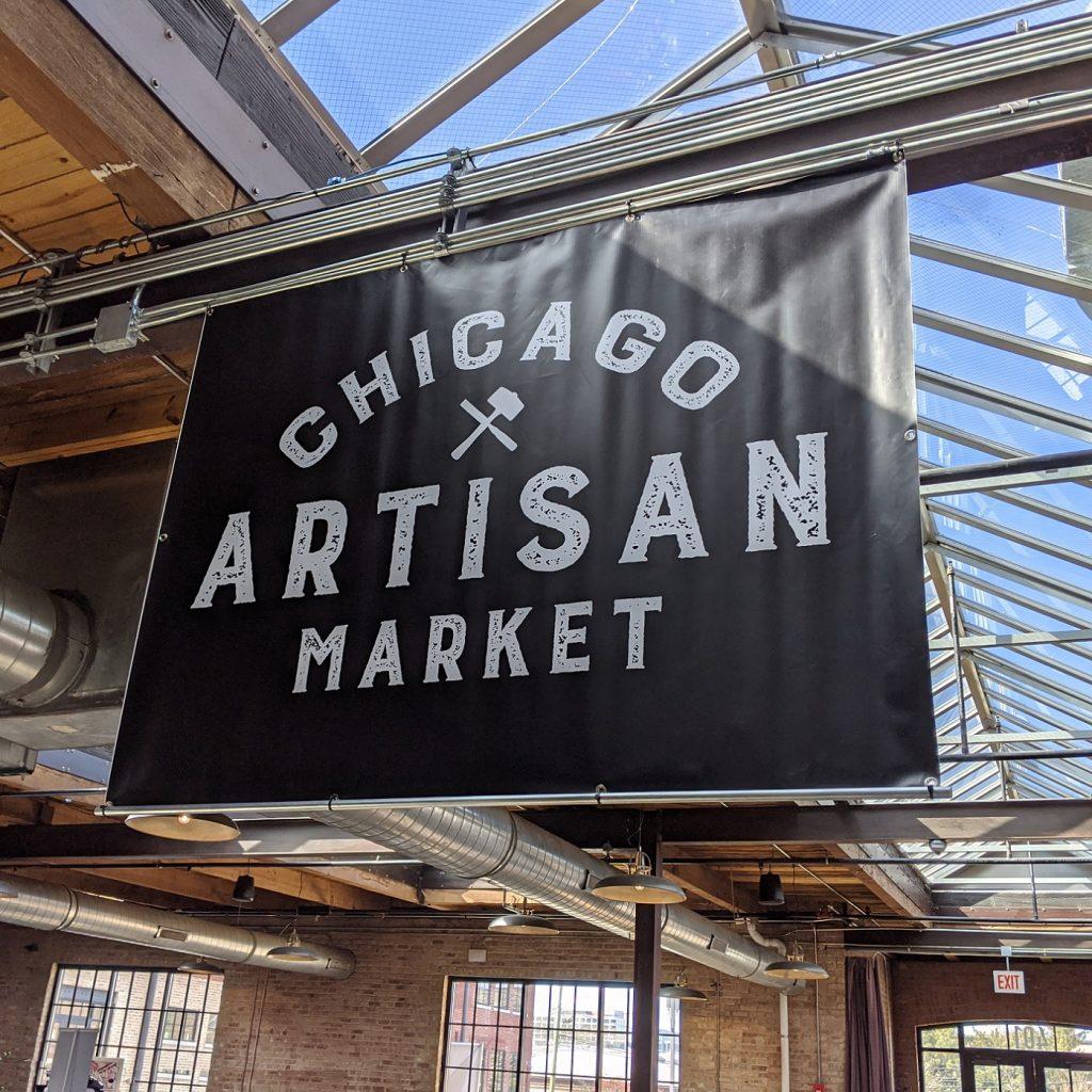 Our Work: Chicago Artisan Market (Overhead Banner & Skylight)